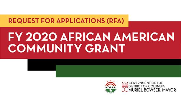 FY 2020 African American Community Grant
