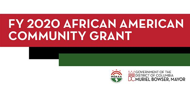 Mayor Bowser announced the FY 2020 Community Grant awardees